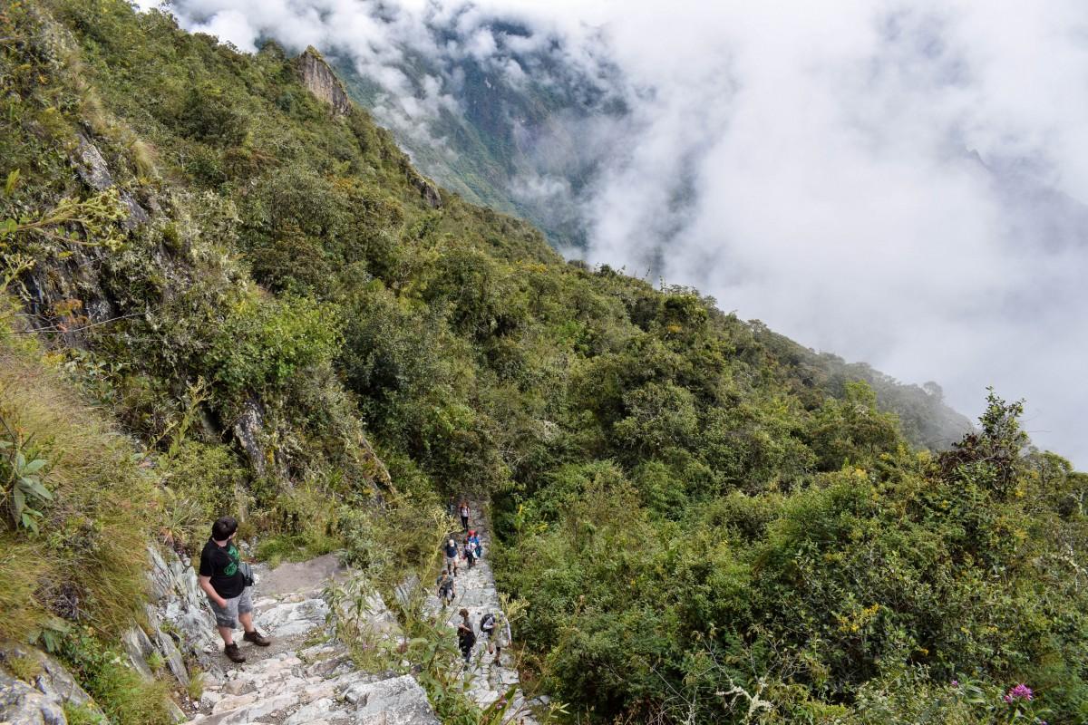Machu Picchu Mountain Peru altitude