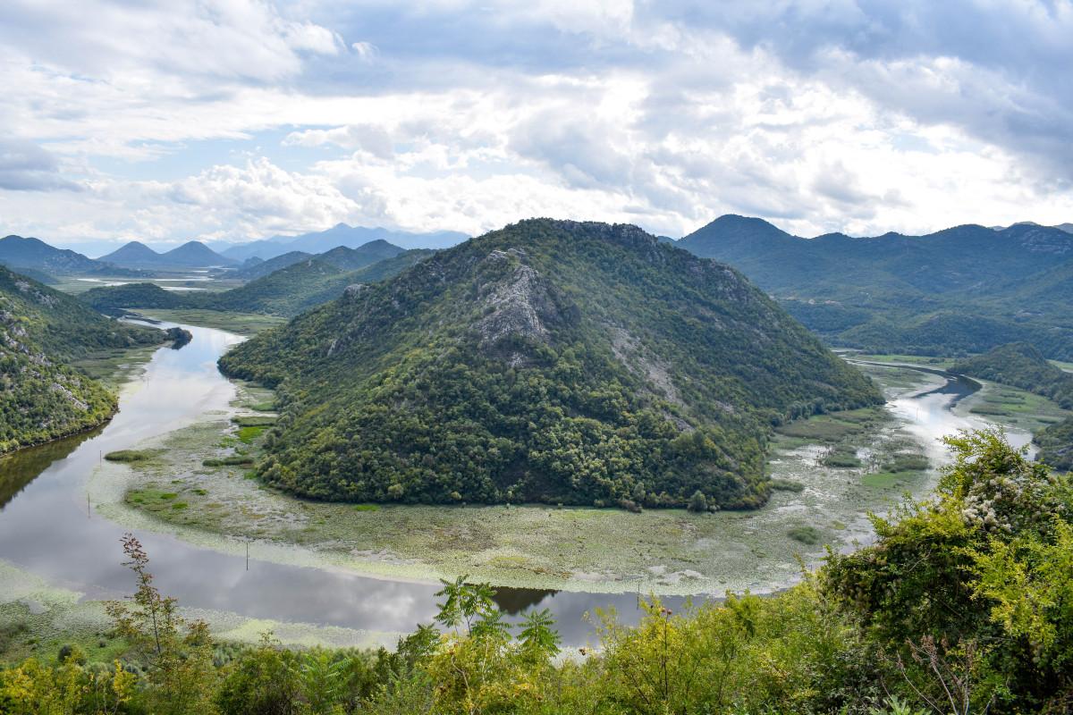 Lake skadar Pavlova Strana Viewpoint Montenegro