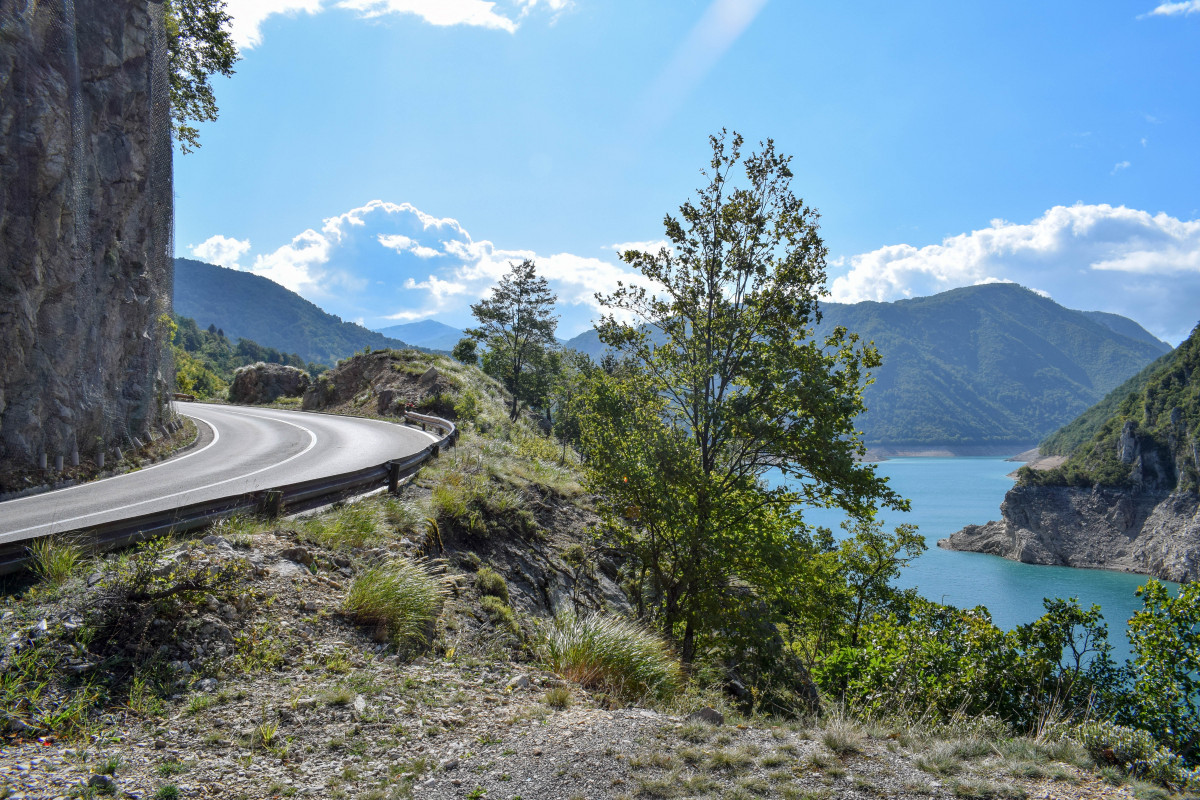 Durmitor to Pluzine P14 reservoir