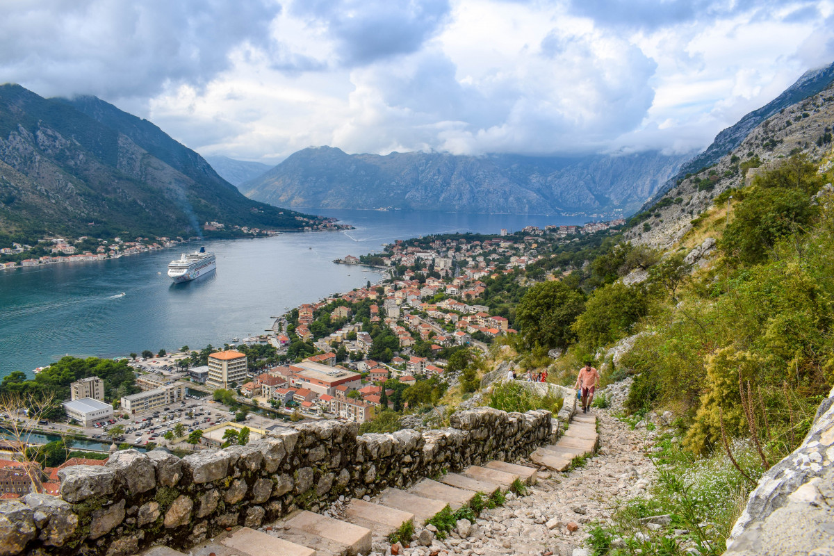 St John's Fortress Hike Kotor Montenegro