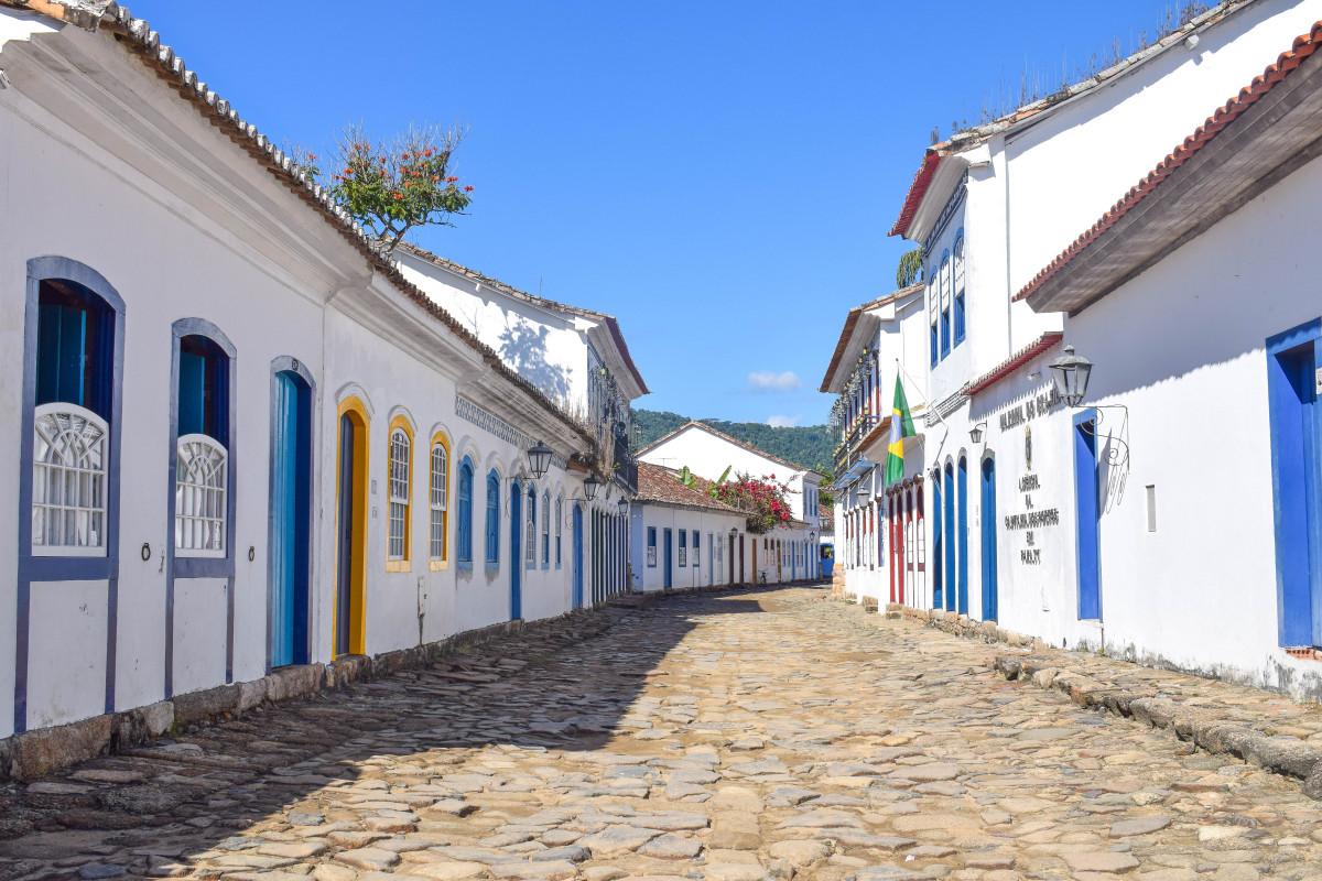 Paraty old town brazil