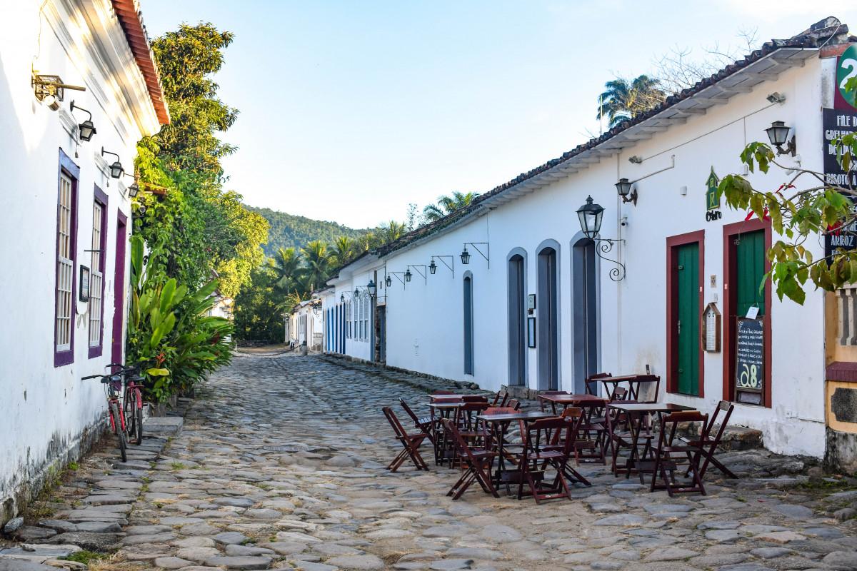 Paraty restaurants Brazil