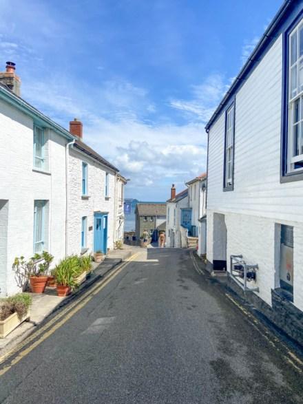 Portscatho Cornwall village