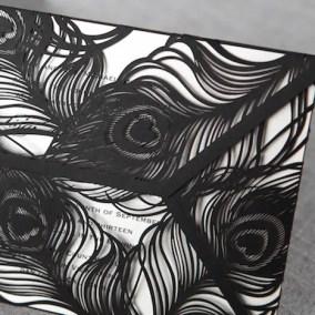 1.3_Partecipazione Black coda di pavone-particolare