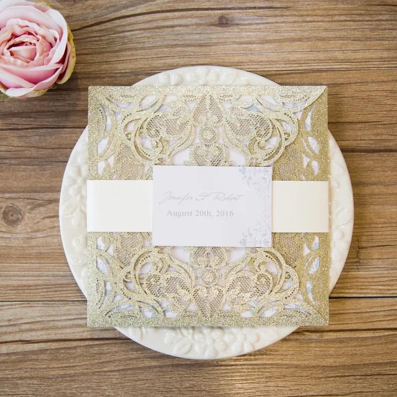 Partecipazioni Matrimonio Glitter.Partecipazioni Matrimonio Laser Glitter Catalogo