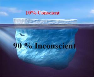 iceberg conscient inconscient