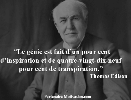 Thomas Edison Top 25 Citations Motivation