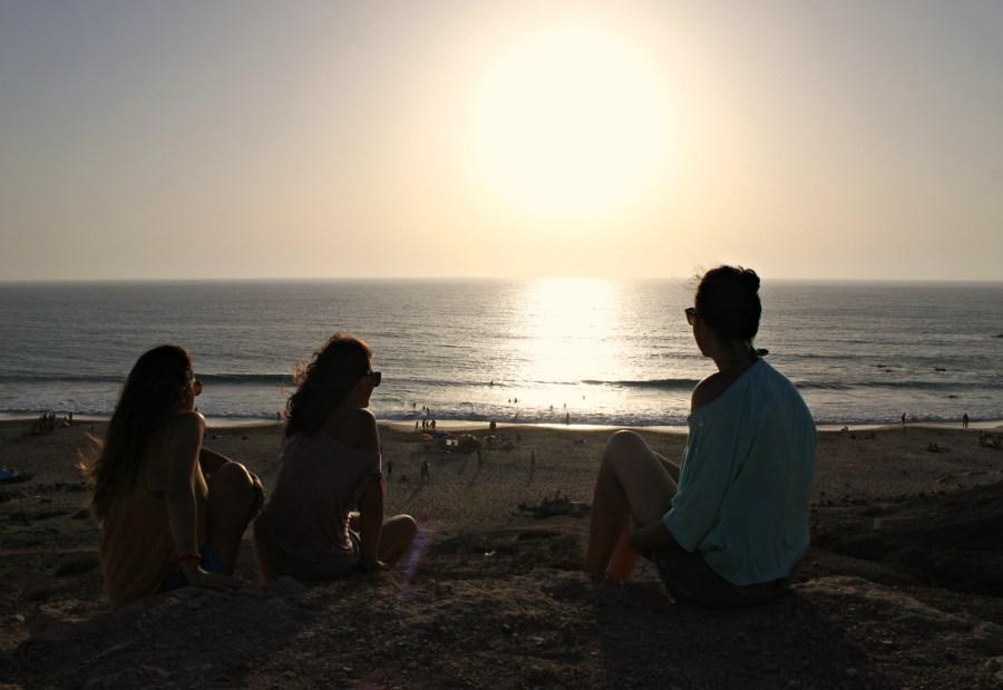 Tramonto Spiaggia de El Cotillo, Fuerteventura