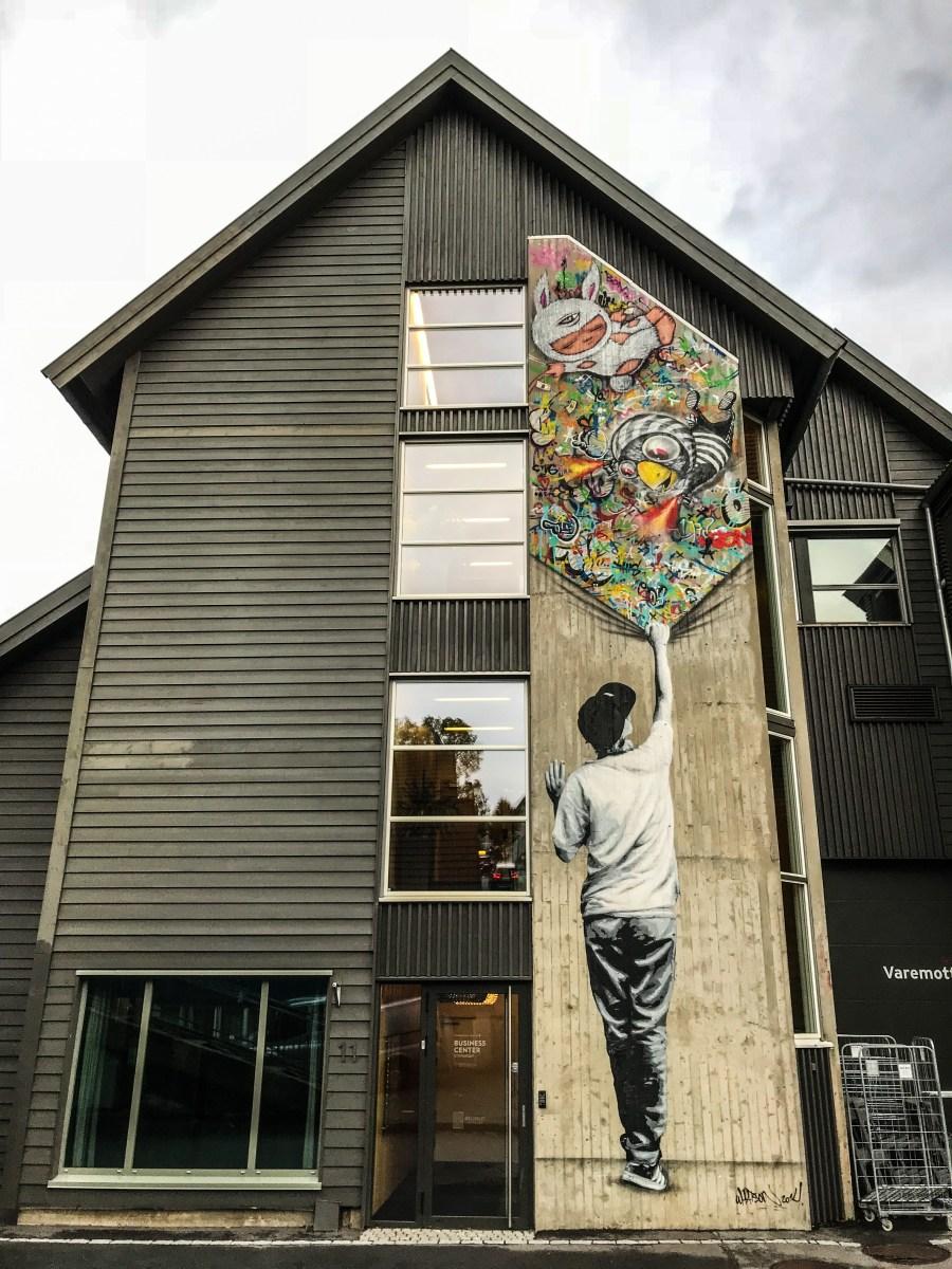 Murales di Ian Cox, Stavanger