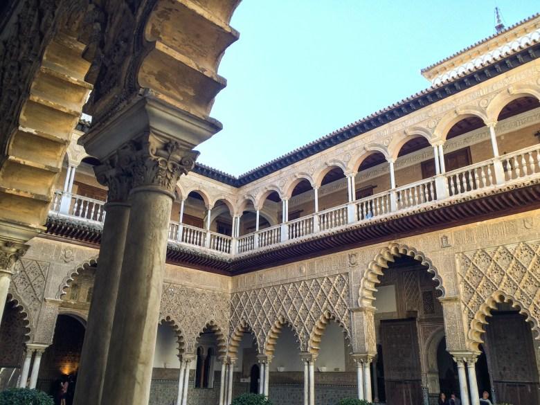 Interni del real Alcázar di Siviglia