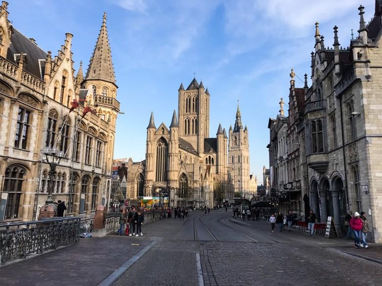Chiesa di San Nicola, Korenmarkt, Gand -Belgio