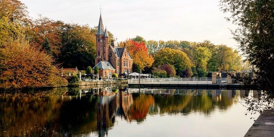 Minnerwater, il lago degli innamorati - Bruges
