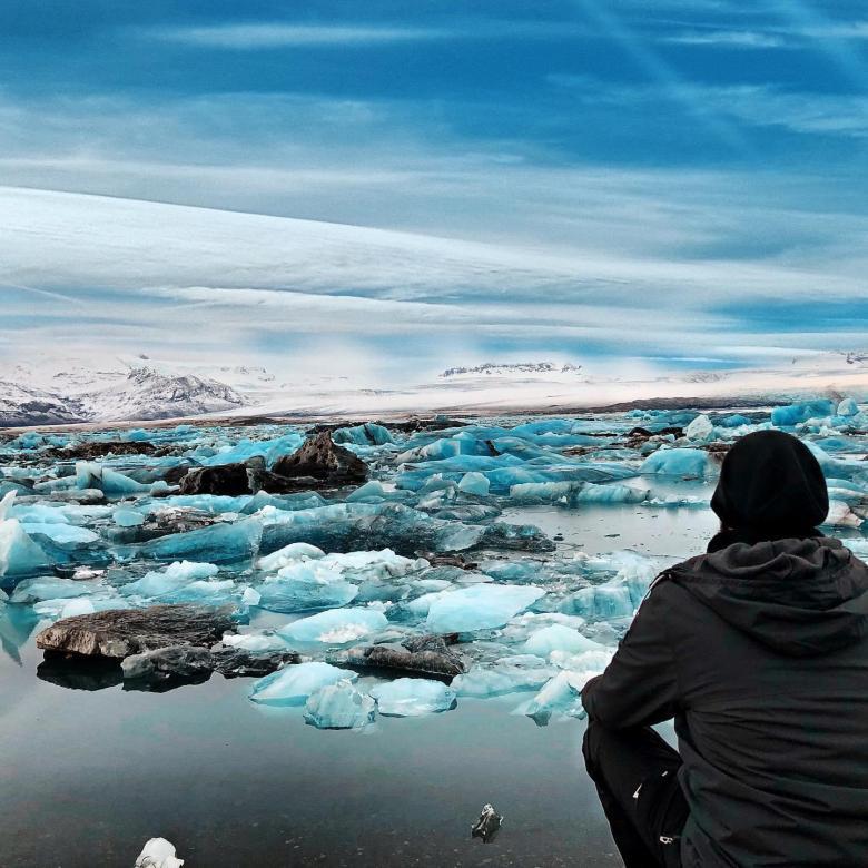 Il Lago Jökulsárlón, Islanda