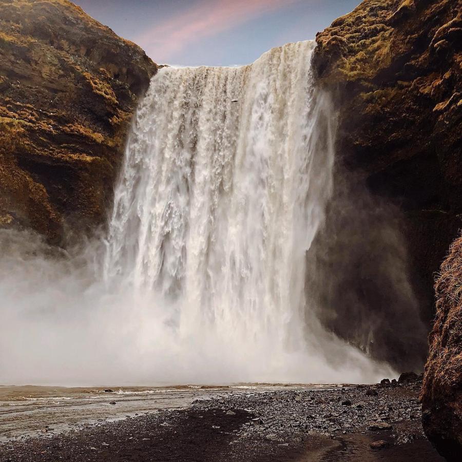 Cascata di Skogafoss, Islanda