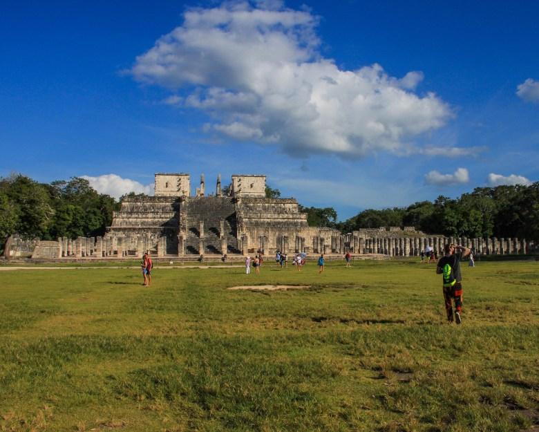 Tempio dei Guerrieri, Chichén Itzà - Messico