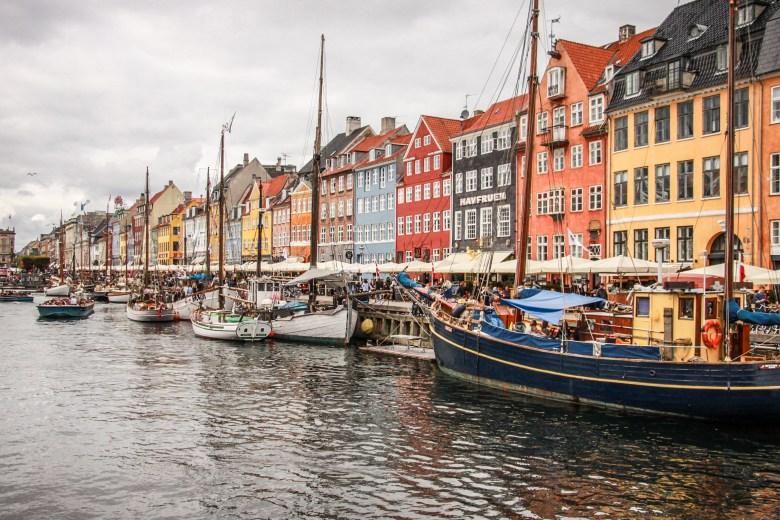 Nyhavn, il porto di Copenaghen