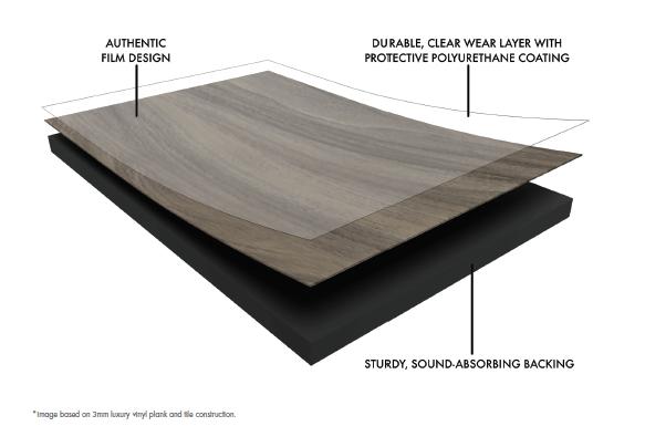 glue down vs floating luxury vinyl