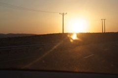 Sunset in Al Tafila