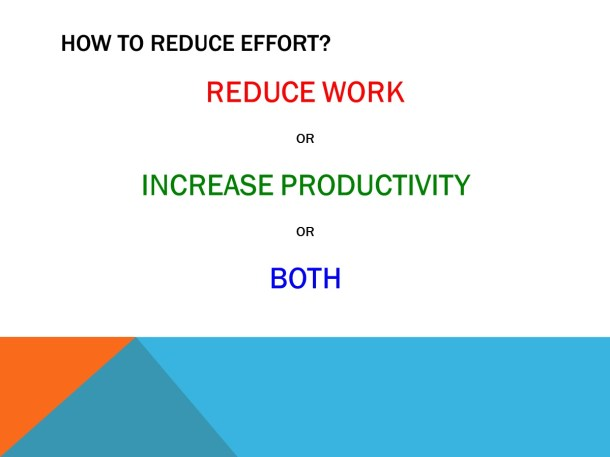 Increasing Efficiency – Slide 4