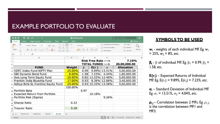 Evaluating a Mutual Fund Portfolio - Slide 3