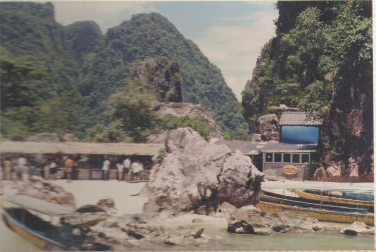 Approach to James Bond Island