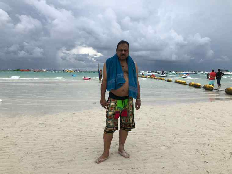 At Beach in Coral Island