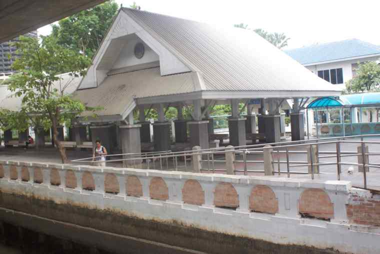 Resting Place at Sathorn Pier