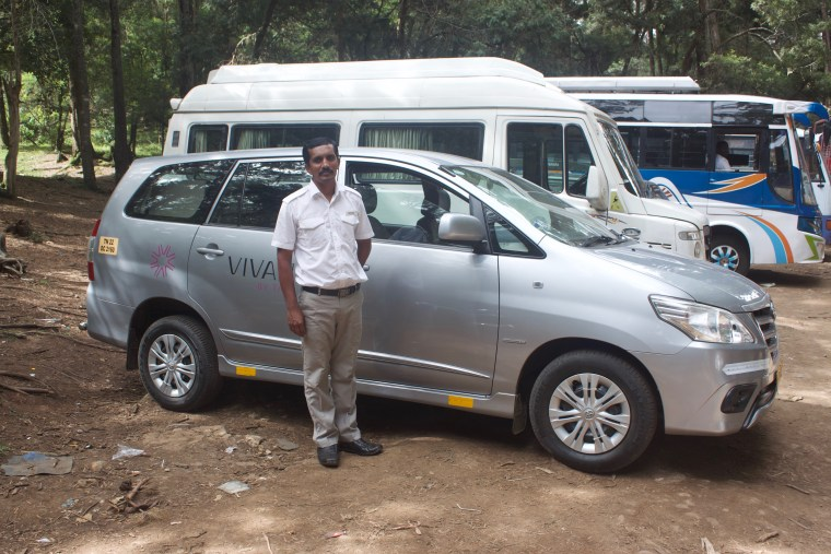 Mr. Richard, who drove us to and around Kodaikanal