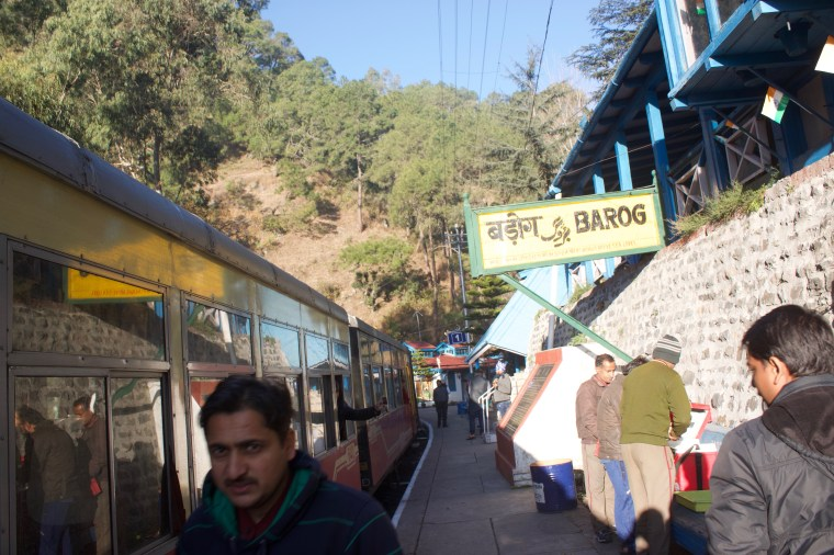 Shivalik Express at Barog Station