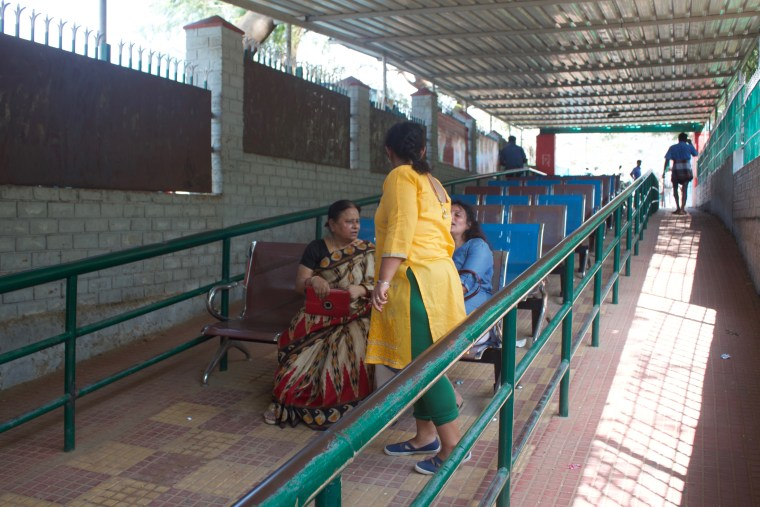 Waiting Room at the Tappa Ghat