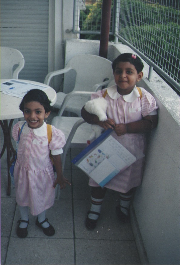 Riya and Ranoo in Cyprus