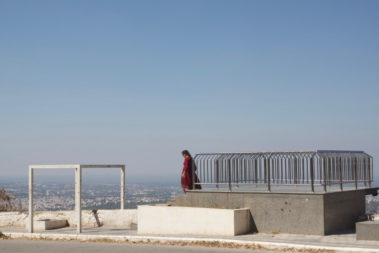 The Viewing Area at the View Point