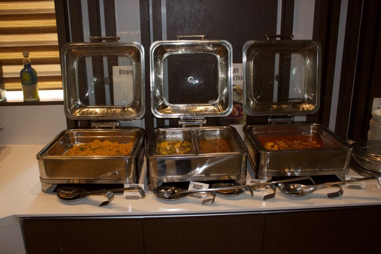 Curries in the Buffet