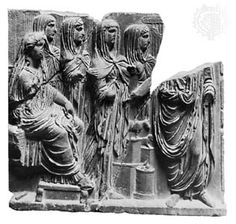The Vestal Virgin frieze, Palermo