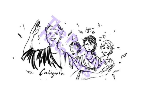 Caligula and his sisters
