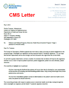 Click to open letter to CMS (PDF, 183k)