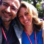 @Bacigalupe and I at Medicine 2.0 Boston