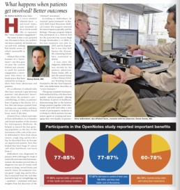 Healthcare IT News story page 1