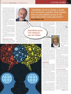 Healthcare IT News story page 2