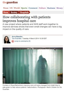 Screen capture - The Guardian
