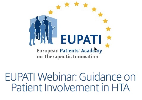 Webinar today, 11am ET: Increasing patient involvement in assessing new treatments