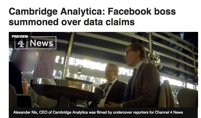 "How the Latest on Facebook, Cambridge Analytica and the ""Deep State"" Could Undermine Patient Data Sharing and AI"