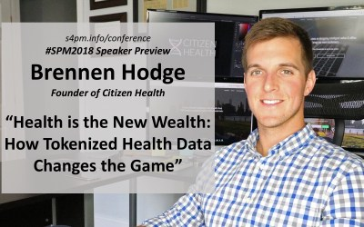 "#SPM2018 speaker preview – Brennen Hodge: ""Health is the New Wealth"""