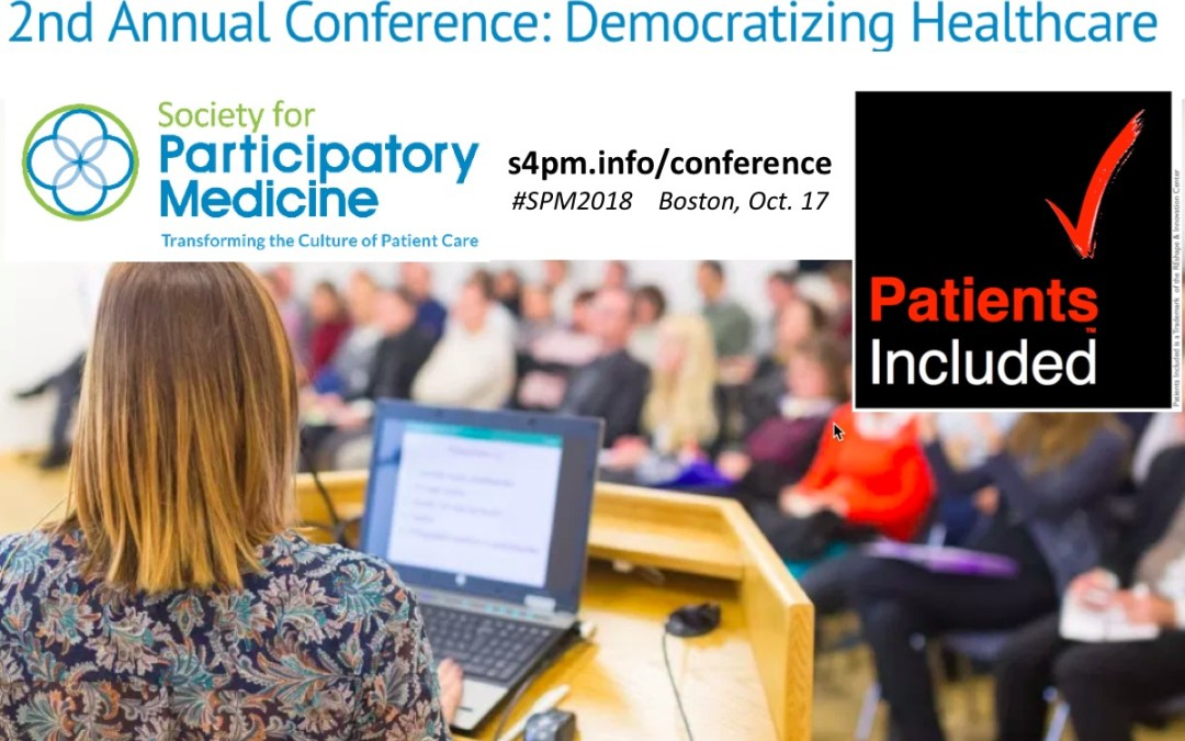 #PatientsIncluded statement for SPM's Second Annual Conference: #SPM2018