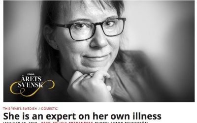 Sara Riggare is Swede of the Year in medicine