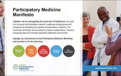Shake up the System: Sign & Share the Participatory Medicine Manifesto!