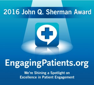 Nominate Someone for the John Q. Sherman Award in Patient Engagement