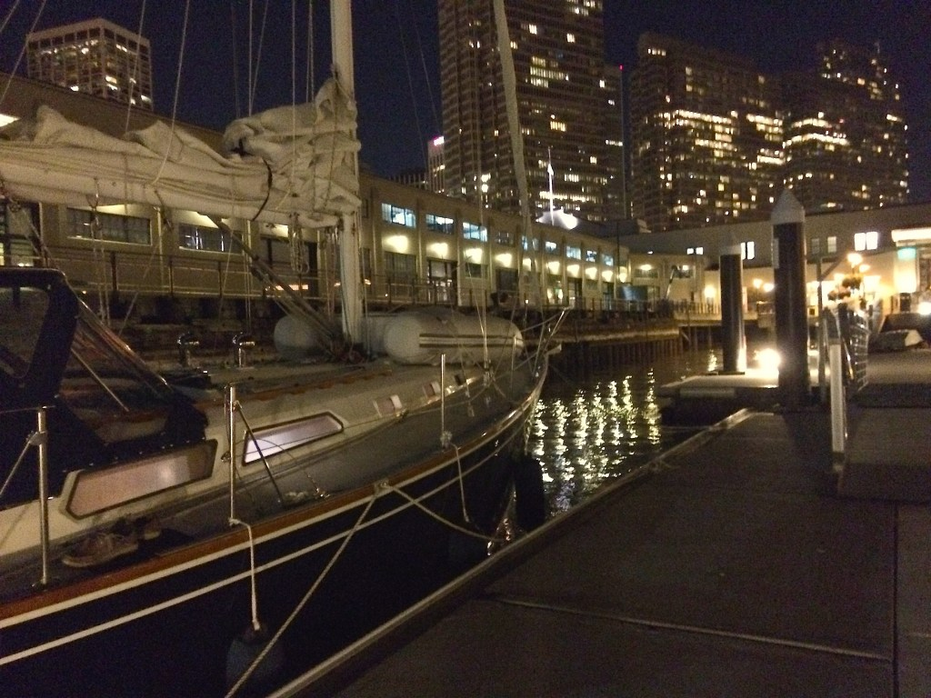 Pier 1 1/2 at night