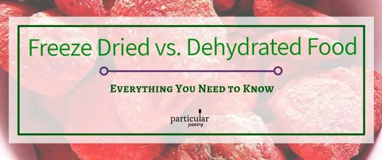 Freeze Dried vs. Dehydrated Food – Everything You Need to Know
