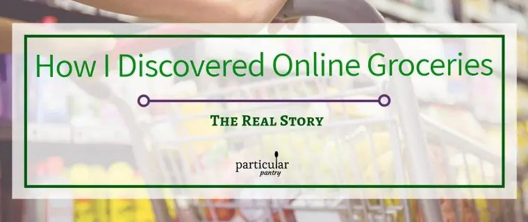 How I Discovered Online Groceries – The Real Story
